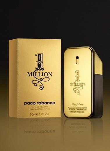 Paco Rabanne One Million EDT 50 ml Erkek Parfümü Renksiz